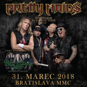 Pretty Maids & Pink Cream 69 - ZRUŠENÉ