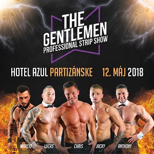 The Gentlemen – professional strip show