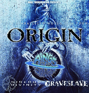 Origin / Rings Of Saturn / Hideous Divinity / Graveslave