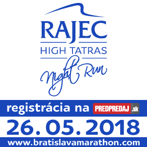 6. ROČNÍK – RAJEC HIGH TATRAS NIGHT RUN 2018