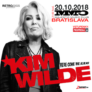 KIM WILDE – Here Come The Aliens tour 2018
