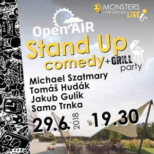 Monsters Stand Up comedy - Open air