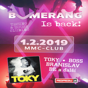 Bumerang is back - ZRUŠENÉ