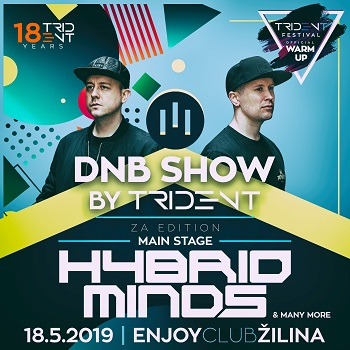 DnB show by III Trident w. Hybrid Minds - Trident fest. warm up