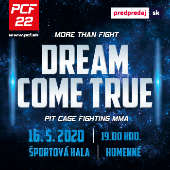 PCF 22 DREAM COME TRUE - PRESUNUTÉ