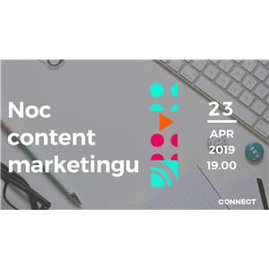 Noc content marketingu - 23.04.2019