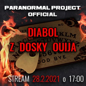 PARANORMAL PROJECT OFFICIAL- DIABOL Z DOSKY OUIJA