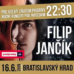dcbda3d8243d Filip Jančík - NOČNÝ PRIDANÝ KONCERT - B.H.