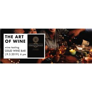 The art of wine with wine tasting
