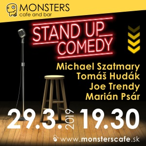 Monsters Stand Up Comedy - VYPREDANÉ