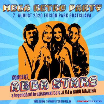Koncert ABBA STARS A MEGA RETRO PARTY