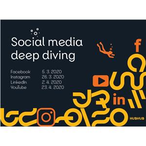 Social media deep diving - séria 4 eventov