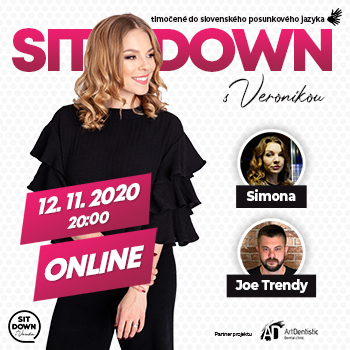 Sit Down s Veronikou - online