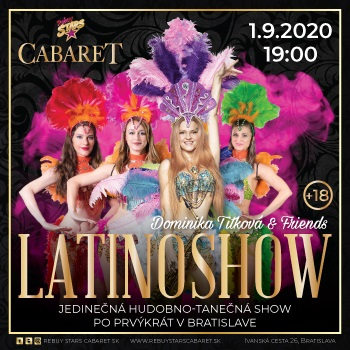LATINOSHOW – Dominika Titková & Friends