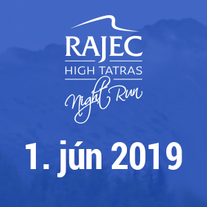 7. ročník Rajec High Tatras Night Run 2019