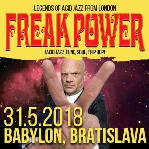 FREAK POWER (UK) - koncert kultovej skupiny