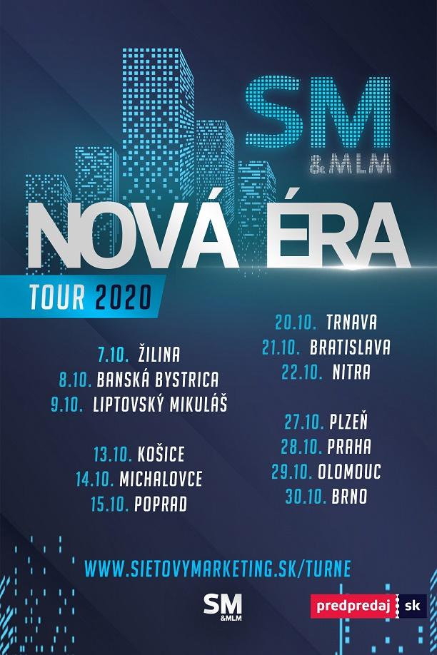 Nová ÉRA SM&MLM (Česko-Slovenské Turné)