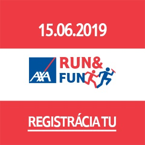 7. ročník AXA Run and Fun 2019