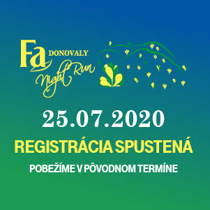 Fa Donovaly Night Run 2020