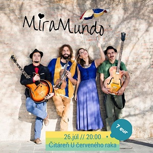 MiraMundo world music from Brazil