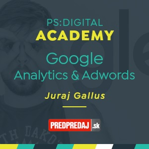PS:Digital Academy - Google Analytics a Adwords - základy