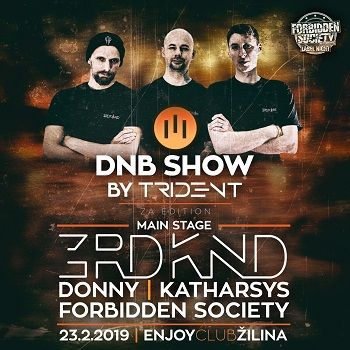 DnB show by lll Trident pres. FS label night 3rdknd