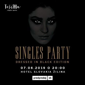 TešíMa - singles party // Dressed in Black edition - ZRUŠENÉ