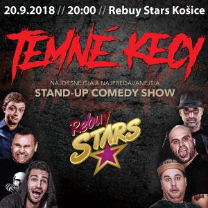 72e4755d8 Temné Kecy v Rebuy Stars Košice - vstupenky | Predpredaj.sk