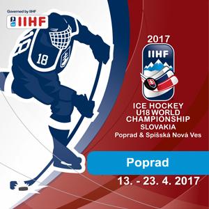 Majstrovstvá Sveta V Hokeji Hráčov Do 18 Rokov 2017 2017 Iihf