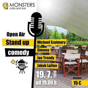 Open Air Monsters Stand Up comedy