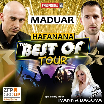 MADUAR - Hafanana The Best Of Tour 2019 - Holíč