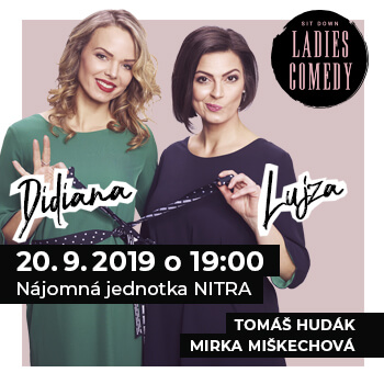 Sit Down Ladies Comedy - Nitra