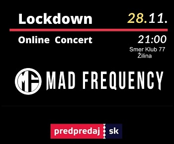 Lockdown concert Mad Frequency