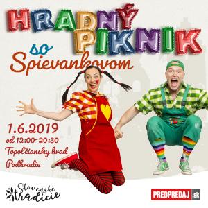2853a145a67d8 Hradný piknik so Spievankovom - vstupenky | Predpredaj.sk