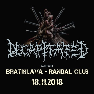 DECAPITATED / HATESPHERE / THY DISEASE + GUESTS