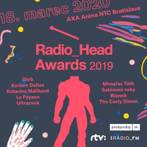 Radio_Head Awards 2019 - ZRUŠENÉ