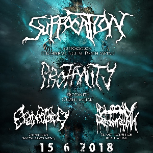 Suffocation / Profanity / Craniotomy / Bloody Redemption