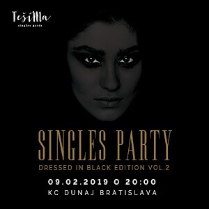 TešíMa – singles party // Dressed in Black edition vol.2